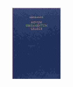 Novum Testamentum Graece 28th Edition Nestle Aland