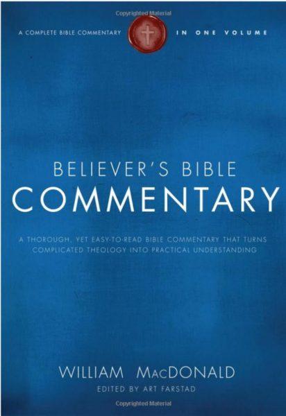 MacDoanld Bible Believer's Commentary
