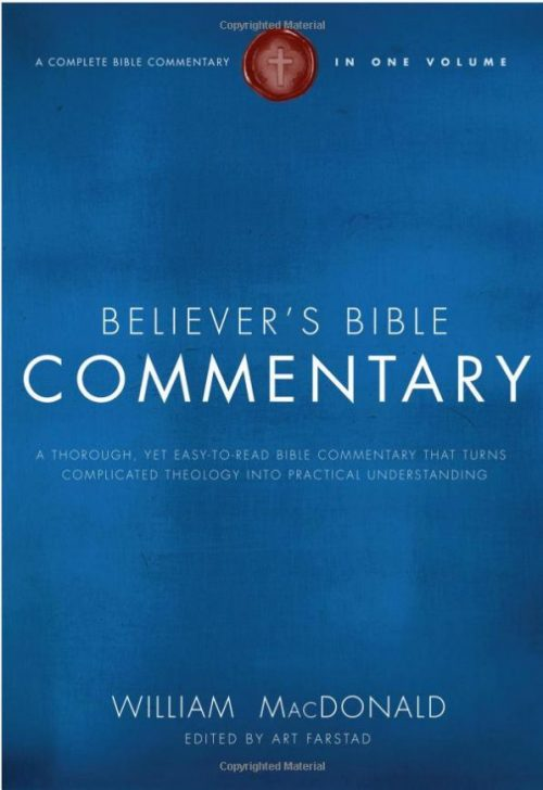 MacDoanld Bible Believer's Commentary
