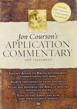 Jon Courson Commentary New Testament